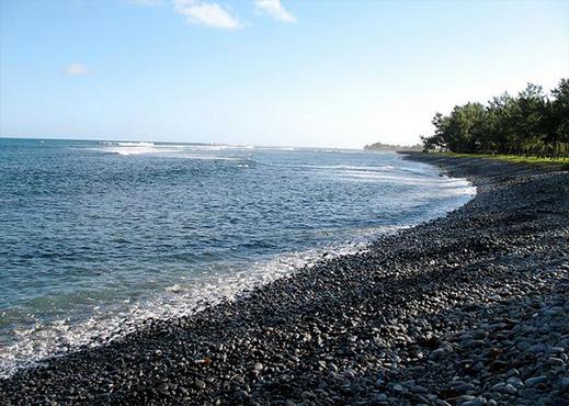 Rivi re des galets beach - Galet de riviere ...